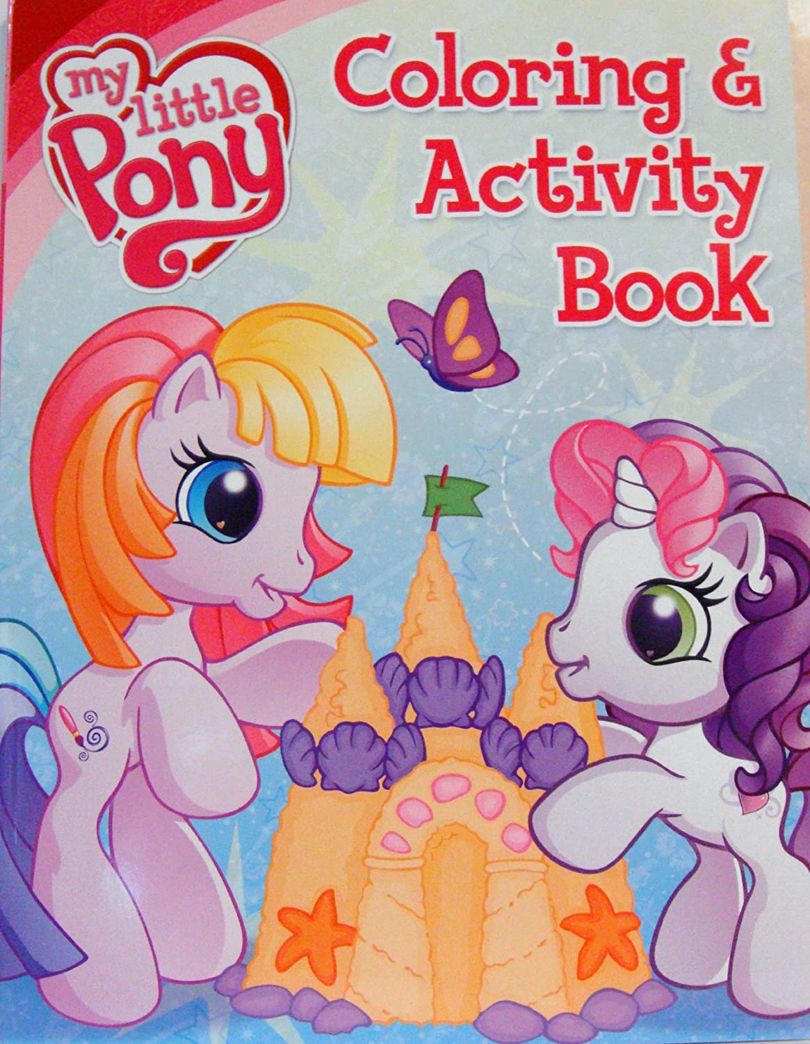 My Little Pony Coloring Book And Activity 1 Amazoncouk Toys Games