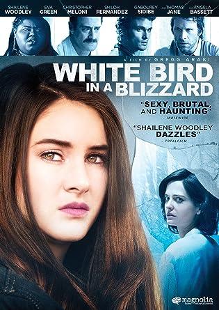 white bird in a blizzard streaming