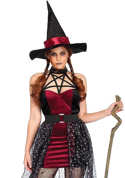 Amazon.com: Leg Avenue Womens 3 pieza sexy bruja – Disfraz ...