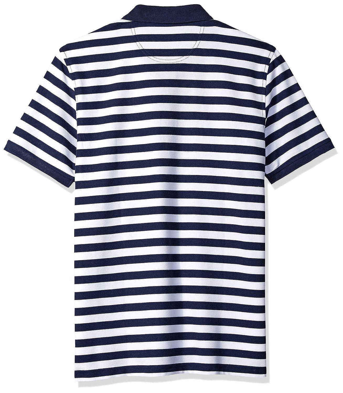 IZOD Stripe Advantage Performance Stripe Polo Fit) Flag (Regular ...