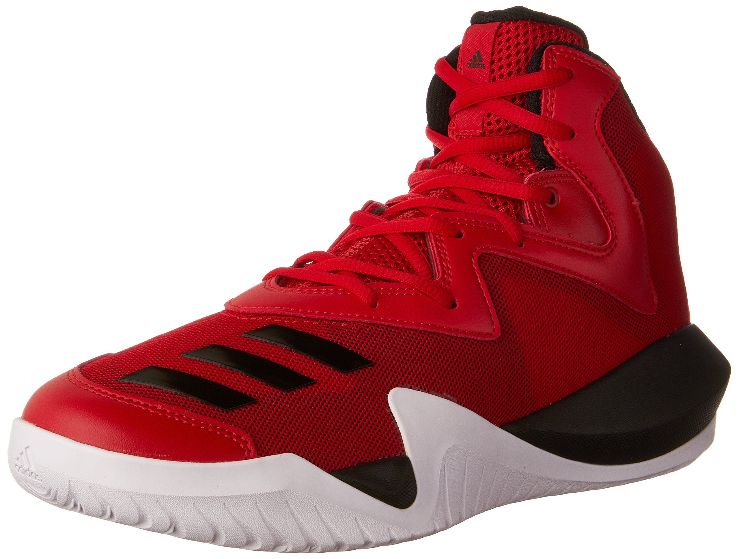 newest 82573 982cd Galleon - Adidas Crazy Team 2017 Shoe Mens Basketball 9 Scarlet-Core Black- White