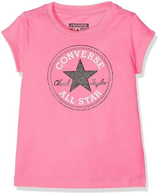 maglietta bambina converse