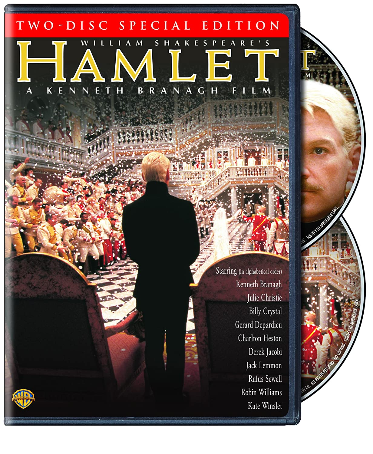 Hamlet: Special Edition Kenneth Branagh Julie Christie Kate Winslet Billy Crystal