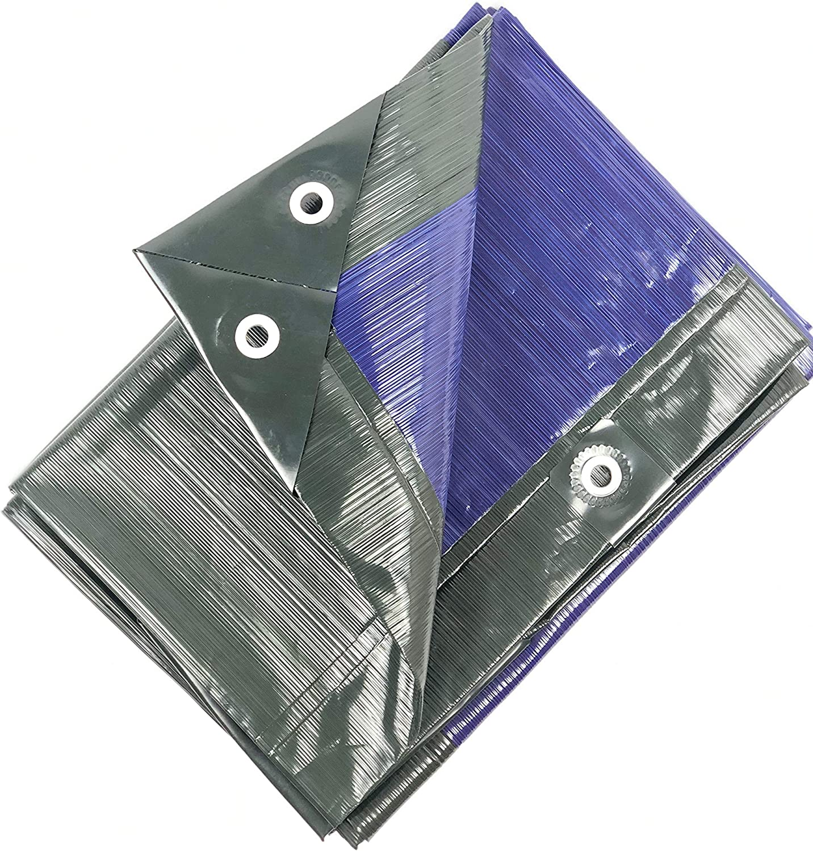 Waterproof 12x16 Heavy Duty Translucent Clear Color tarp MOX Film Technology 34 Variations UV Resistant Premium tarp Anti-Tear