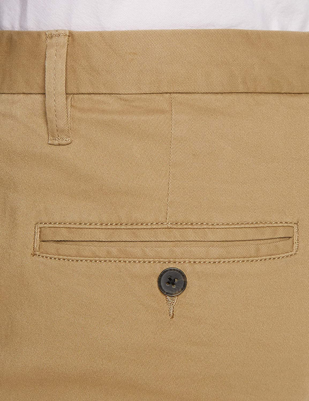 MERAKI Mens Cotton Slim Fit Chino Trousers