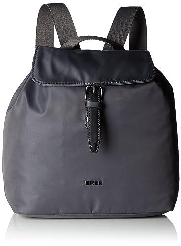 Modestile neue Sachen Gratisversand BREE Damen Barcelona Nylon 16, Slate, Backpack W17 Rucksack ...