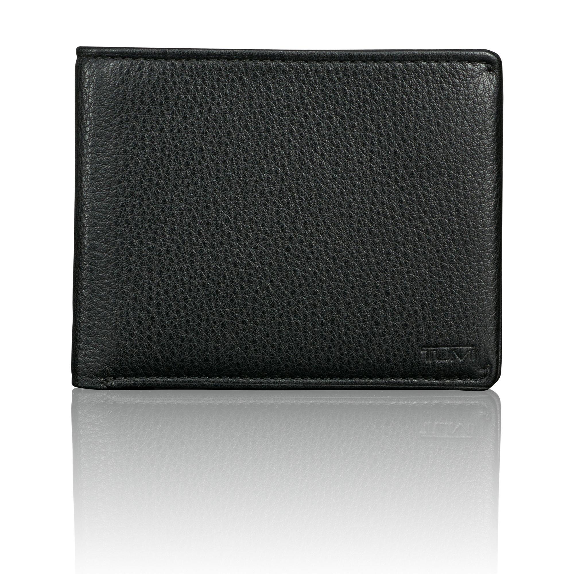 TUMI Men's Nassau Global Double Billfold Wallet