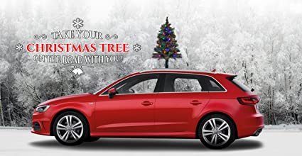 Christmas In Evergreen Truck.The Car Top Christmas Tree The Only Christmas Tree For Your Car Van Or Truck Quick And Easy Installation Colored Led Lights Super Safe