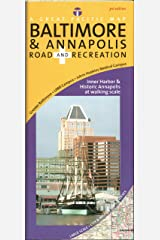 Baltimore & Annapolis Road & Recreation Map, 3rd Edition Map