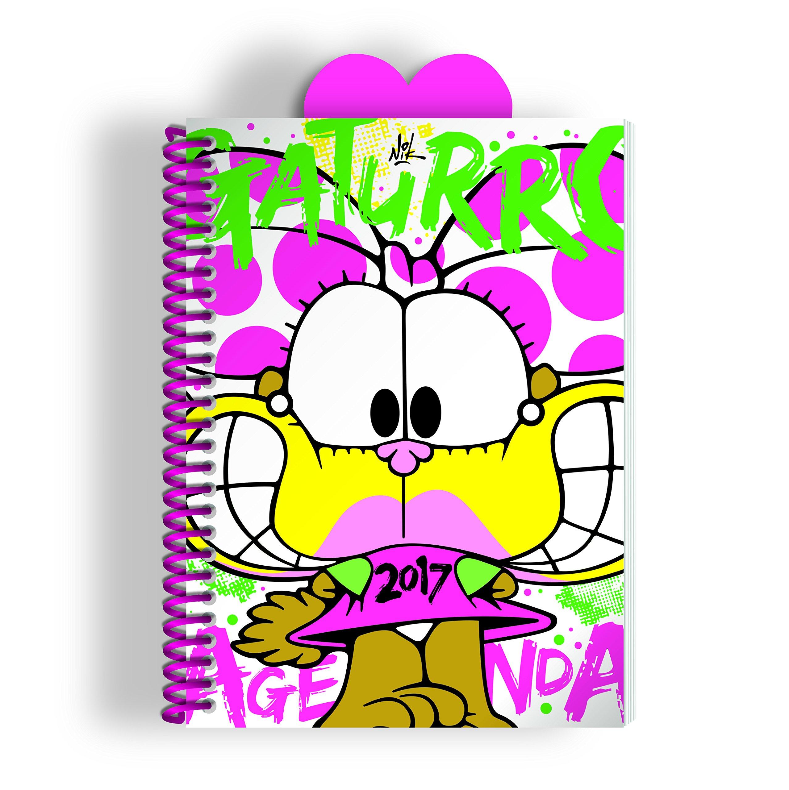 Gaturro 2017 Agenda anillada - Agatha (Spanish Edition): Nik ...