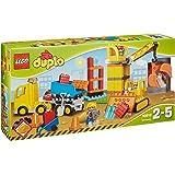 LEGO - 10813 - DUPLO - Jeu de Construction - Le Grand Chantier