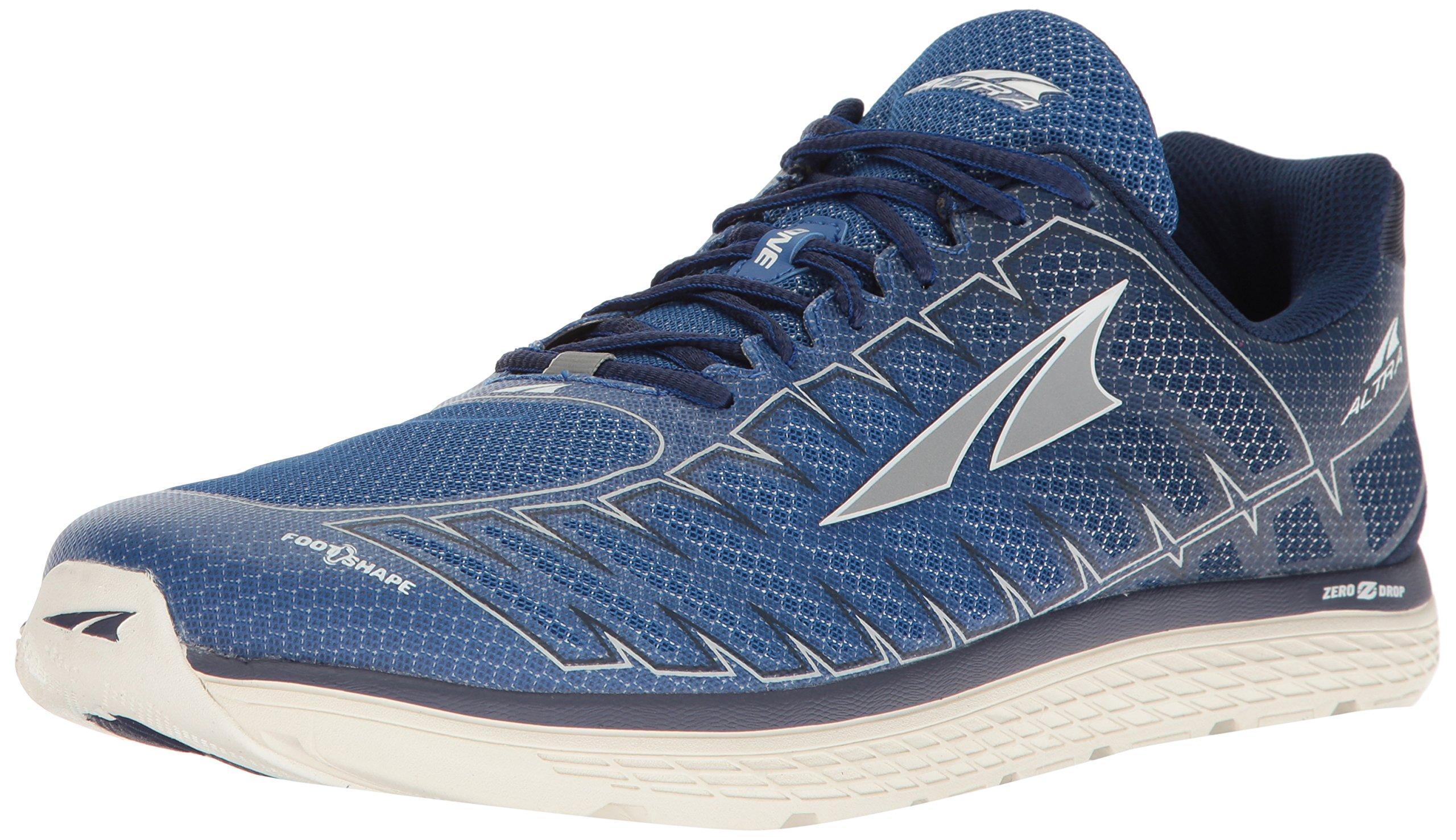 Altra Men's One V3 Running-Shoes, Blue/Gray, 13