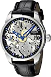 Tissot Men's T0704051641100 T-Complication Squelette Analog Display Swiss Mechanical Hand Wind Brushed Stainless Steel…