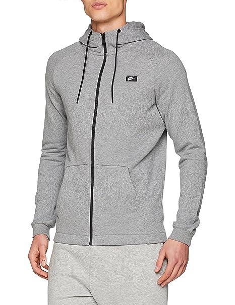 : Nike Sportswear Men's Full Zip Hoodie, Carbon