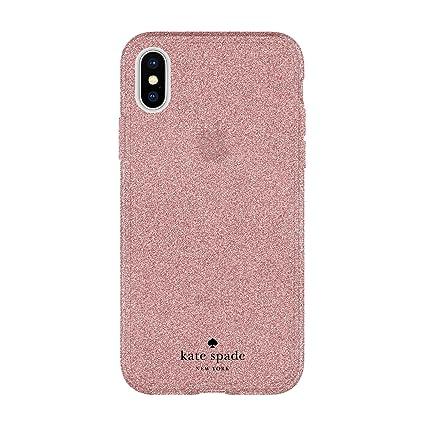 Amazon Com Kate Spade New York Flexible Glitter Case For Iphone X