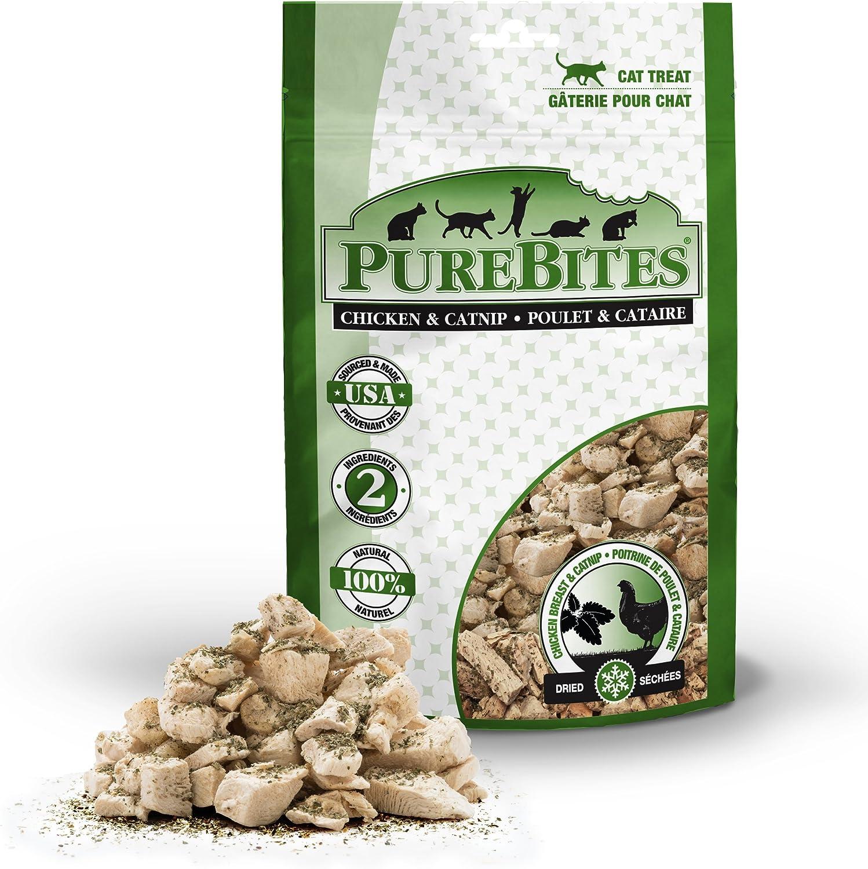 PureBites Chicken Breast & Catnip Freeze-Dried Cat Treats 1.3Oz / 37G   Value Size