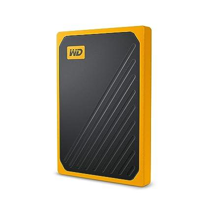 WD My Passport Go 500 GB, disco duro sólido externo - acabado ámbar