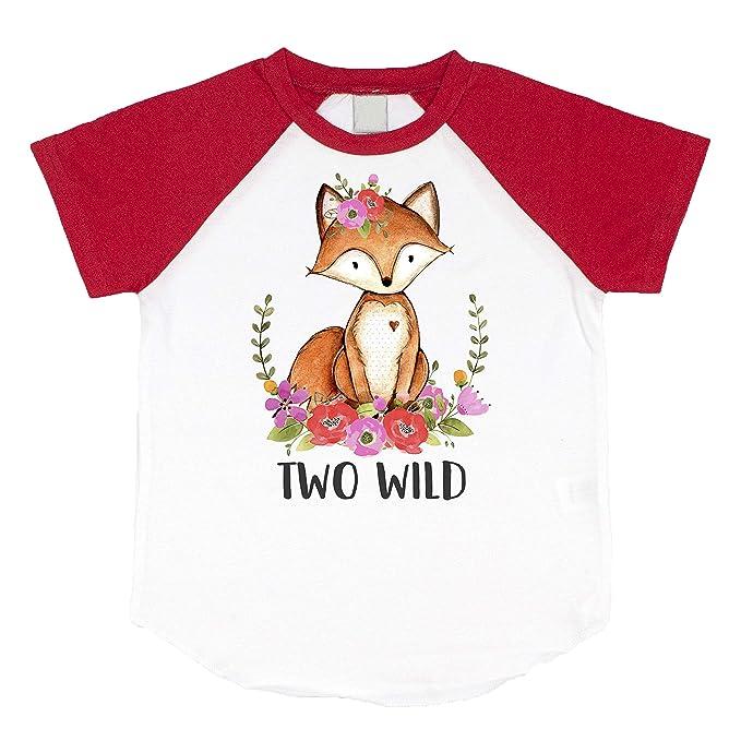 Amazon.com: Camisa de 2 cumpleaños para niñas con dos ...