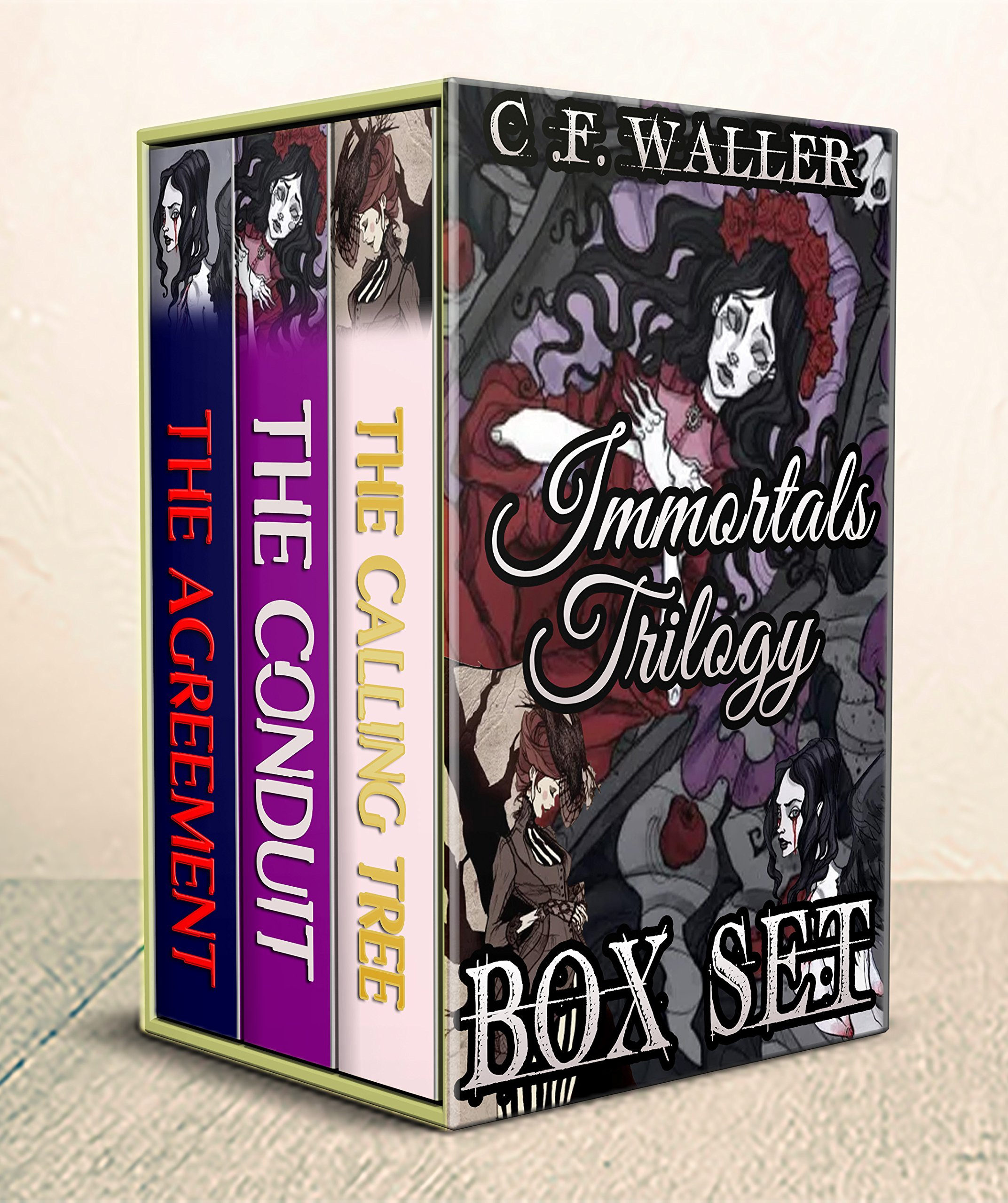 The Immortals Trilogy Books 1 3  Tales Of Immortality Resurrection And The Rapture  BOX SET   English Edition