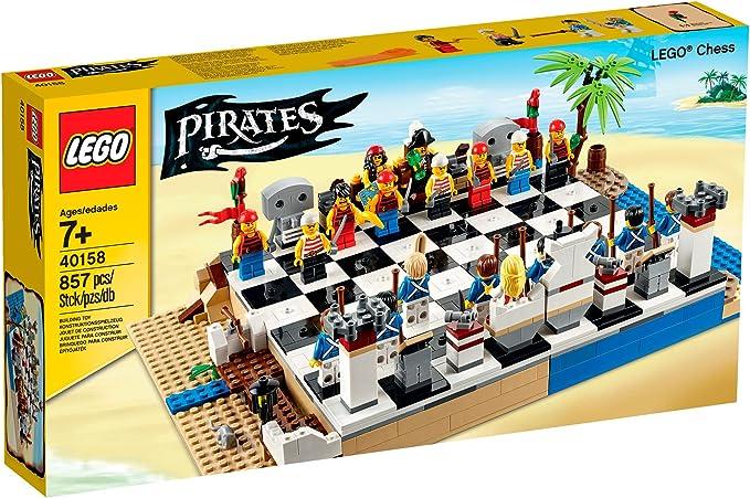 LEGO Pirates Juego de ajedrez - Juegos de construcción (Cualquier género, Multi): Amazon.es: Juguetes y juegos