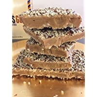 Aunt Mae's Sweet Tooth English Toffee 8 oz Box (24 K Toffee)