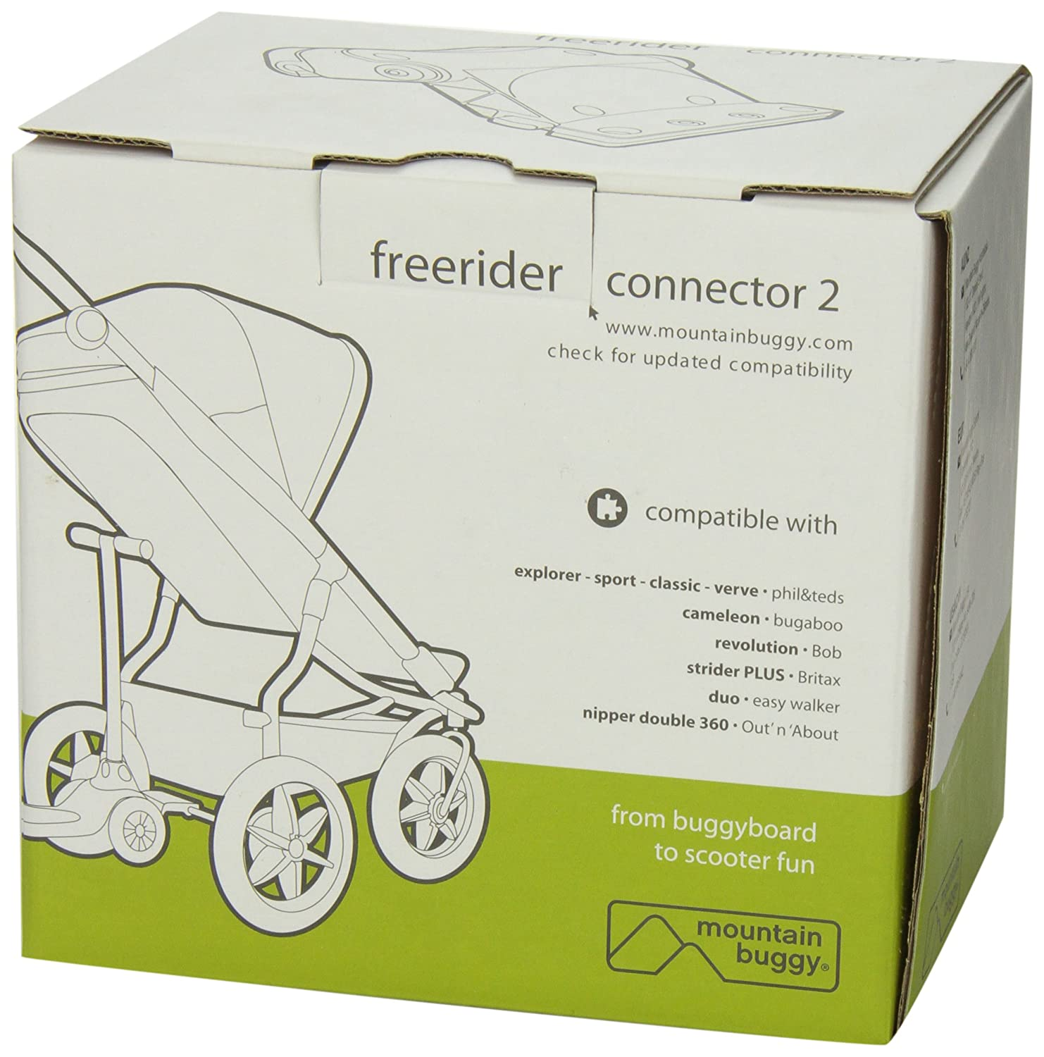 Amazon.com: Mountain Buggy Freerider Conector 2: Baby
