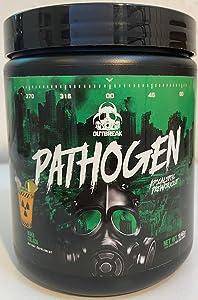 Outbreak Nutrition Pathogen Apocalyptic Pre-Workout for Pumps & Lean Muscle - 25 Servings - Newest Formula - Nuka Colada Flavor