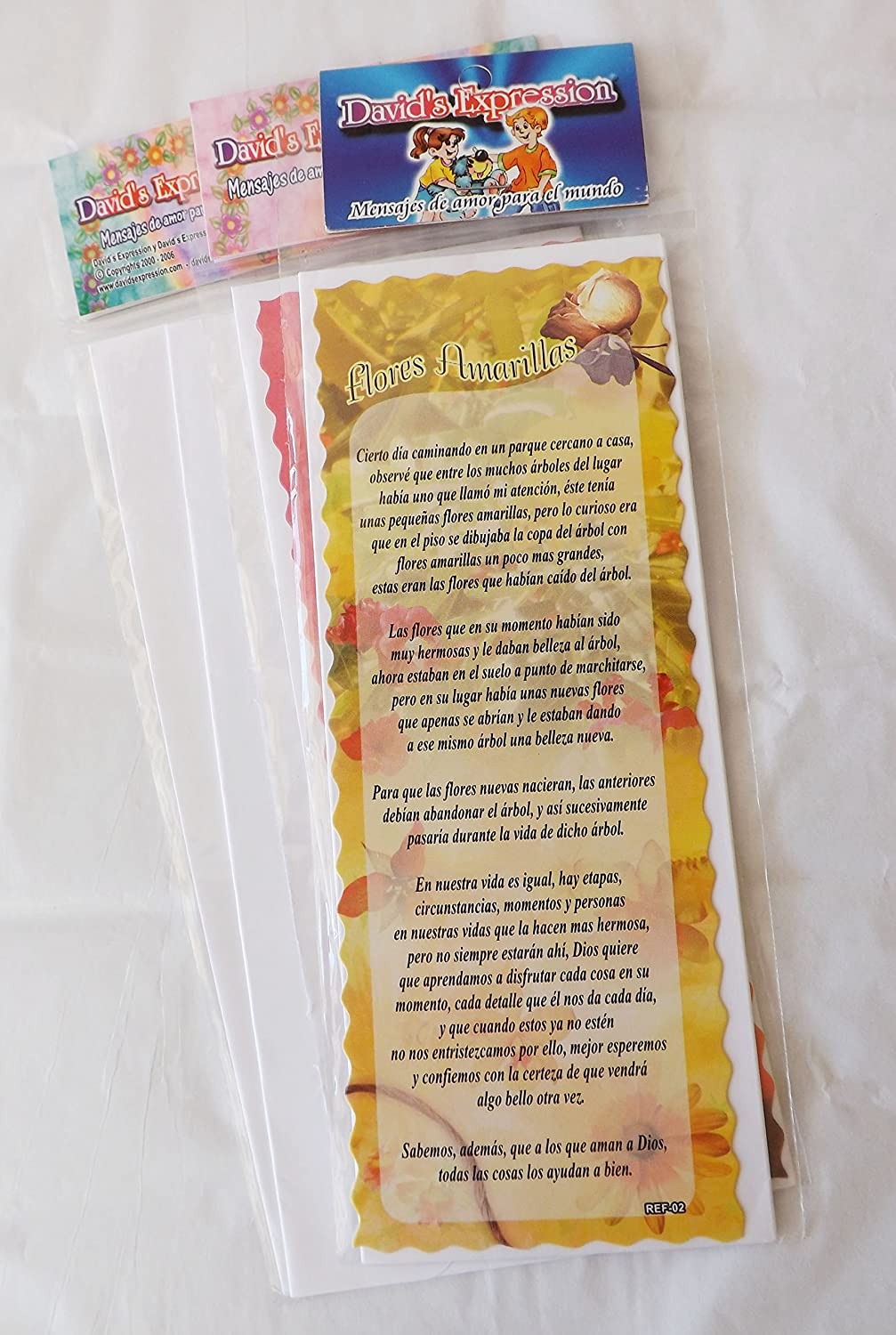 Amazon.com : Vivencia separadores - historias donde inspiran nuestra alma-- 8 Pack (Spanish Edition) bookmark : Office Products