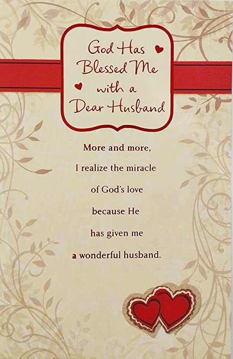 Amazoncom God Has Blessed Me With A Dear Husband Religious