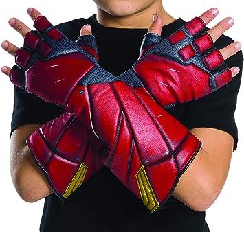 DC Justice League - Guantes de Flash para niños, accesorio disfraz ...