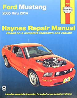 amazon com ford mustang chilton repair manual 2005 2014 automotive rh amazon com 2005 ford mustang v6 service manual 2005 ford mustang gt service manual pdf