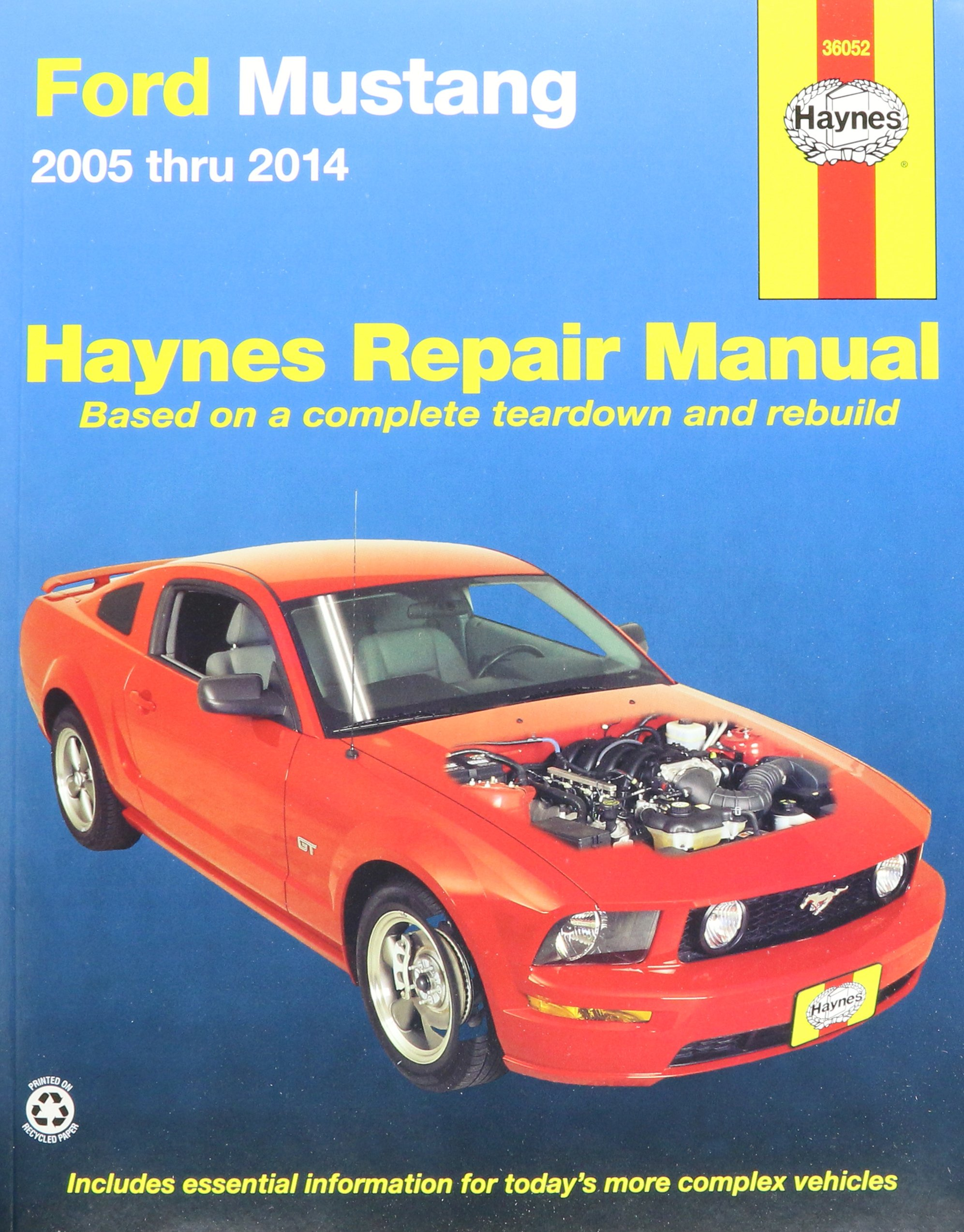 Haynes Publications, Inc. 36052 Repair Manual: 0885272423876: Amazon.com:  Books