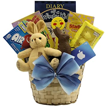 Amazon greatarrivals cool guy easter gift basket for tween greatarrivals cool guy easter gift basket for tween boys 10 13 years negle