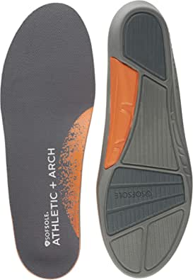Sof Sole Men's Athletic High Arch Performance Full-Length Insole