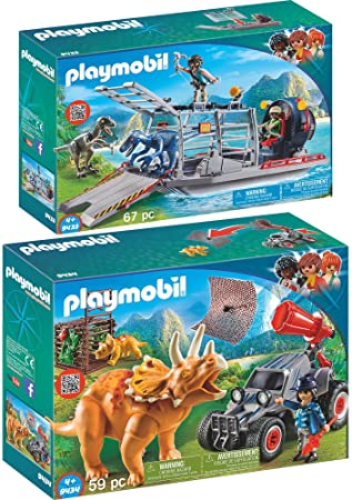 Playmobil Offroader mit Dino Fangnetz 9434  The Explorers NEU Abenteuer