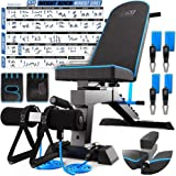Adjustable Weight Bench Workout Bench Press - Strength Training Benches - Foldable Workout Bench Adjustable - Foldable Weight