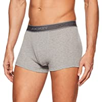 Jockey Men's Cotton Trunks (Elastane Color May Vary)