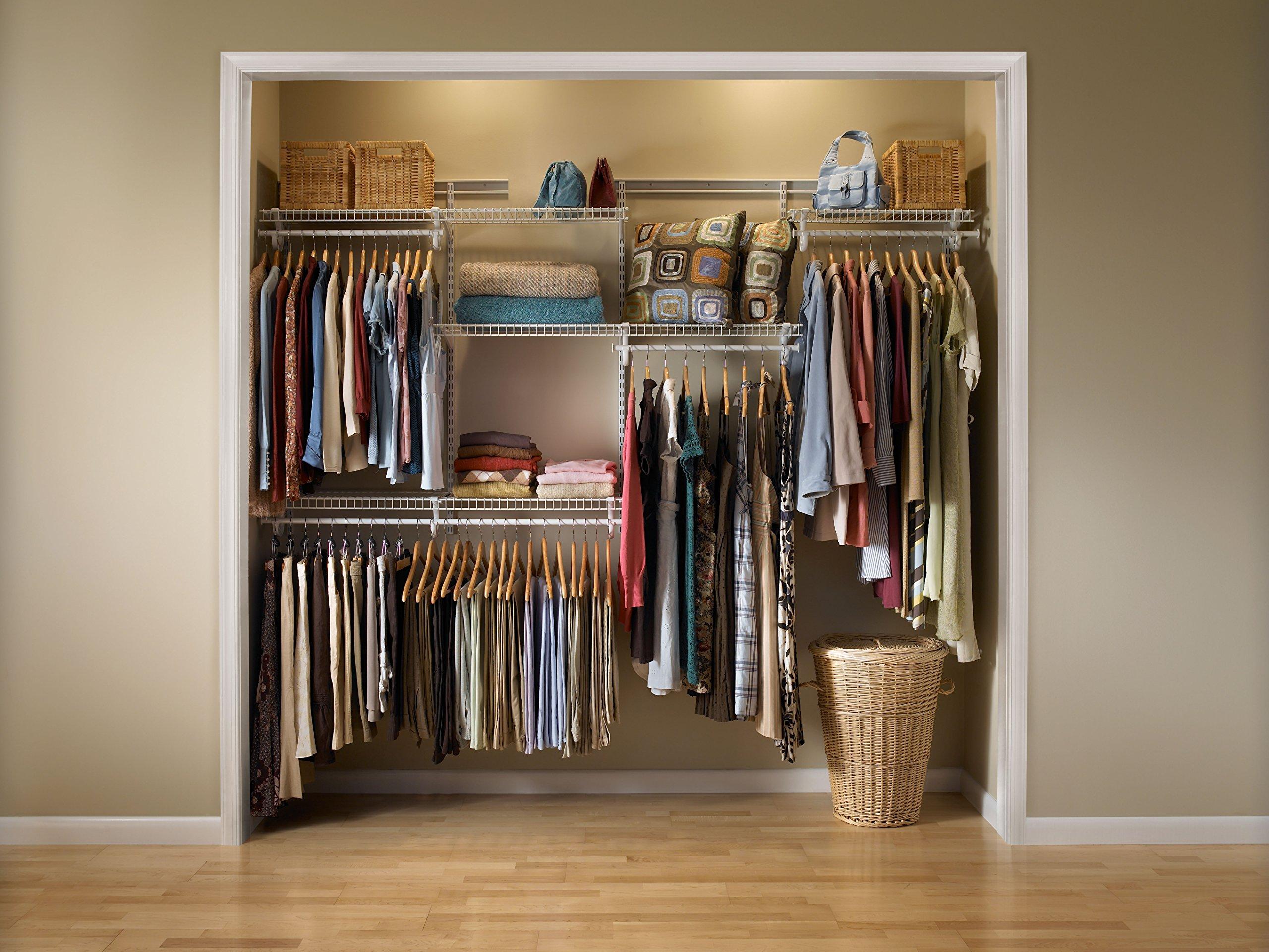 ClosetMaid 8809 ShelfTrack 5ft To 8ft Adjustable Closet