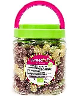 Golosinas Naturales Granel - Bio MIX MANIA. Producto Vegano - 1kg de Gominolas de Fruta…