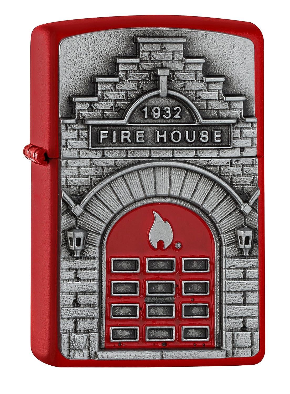 ヨーロッパ直輸入Zippo ジッポー Fire House 2005338 B06VV3YQX7