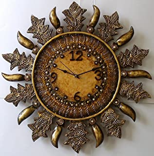 Buy CrafteDIndiA Wallclock Online at Low Prices in India Amazonin
