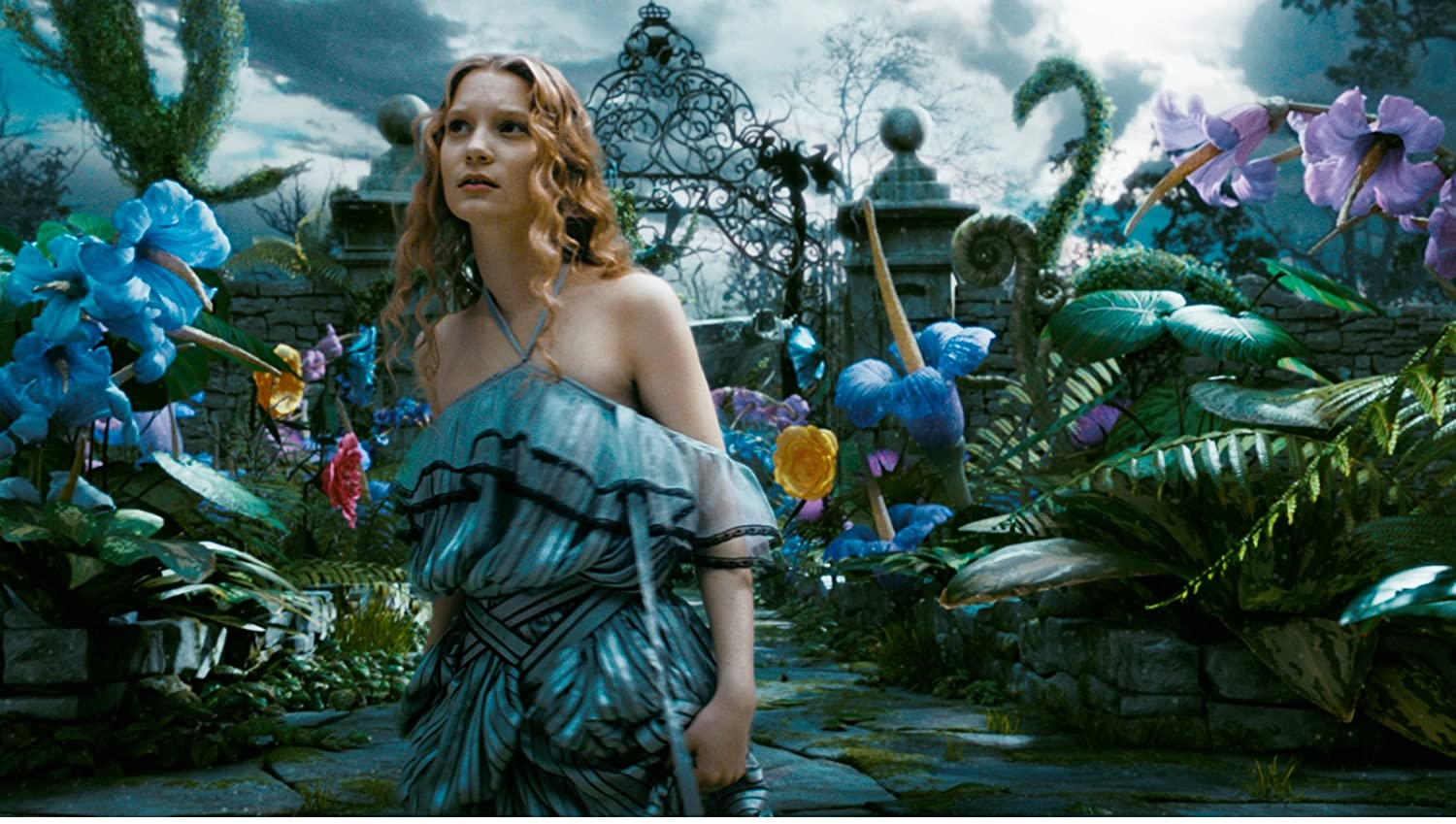 Alice in Wonderland Johnny Depp Mia Wasikowska Anne