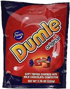 Fazer Dumle Original Soft Toffee Covered With Milk Chocolate 220g bag