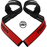 PROIRON Weight Lifting Straps (Pair), Fitness Lifting Wrist Straps with Non Slip Flex Gel Grip, Soft Padded Neoprene Support for Powerlifting, Deadlifts, Crossfit, Bodybuilding, Strength Training