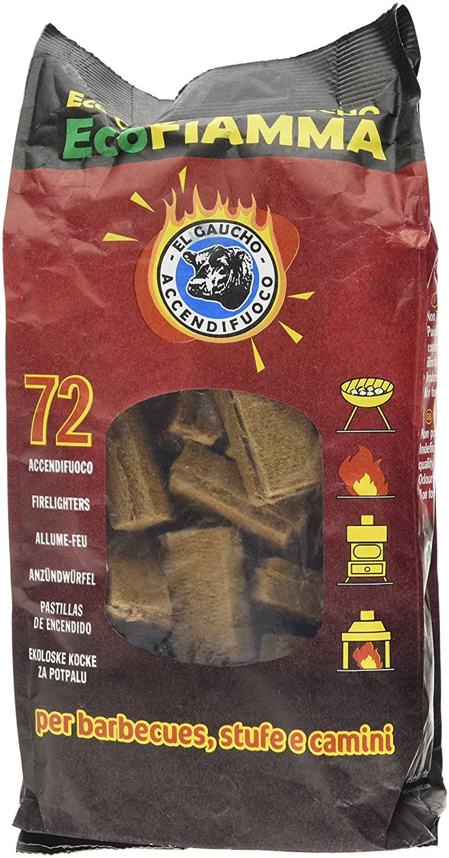 K2Calore KT0560 Pack de 72 Pastillas Ecológicas de Encendido para Grill, Barbacoa, Estufa, Chimenea de Leña Kovyx Outdoor Amazon ES