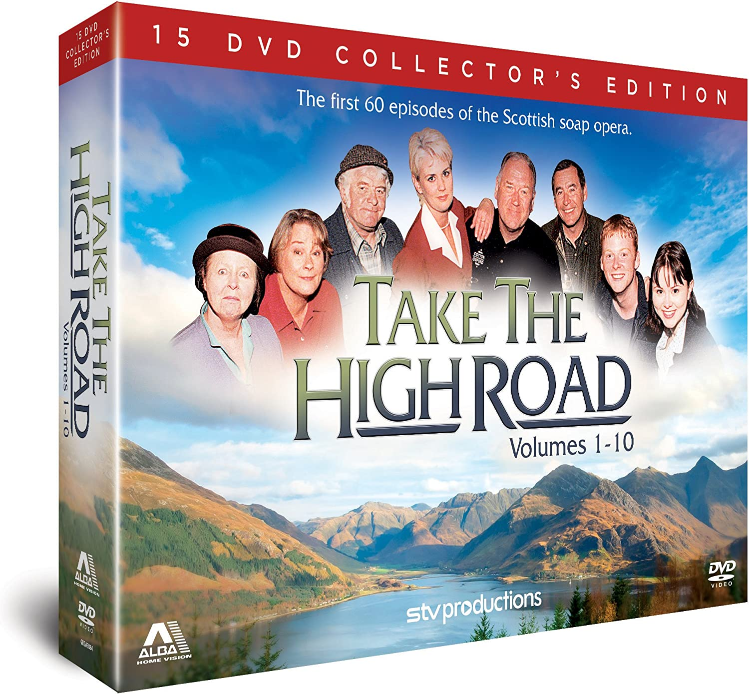 Take the High Road Complete Volumes 1 10. Episodes 1 60