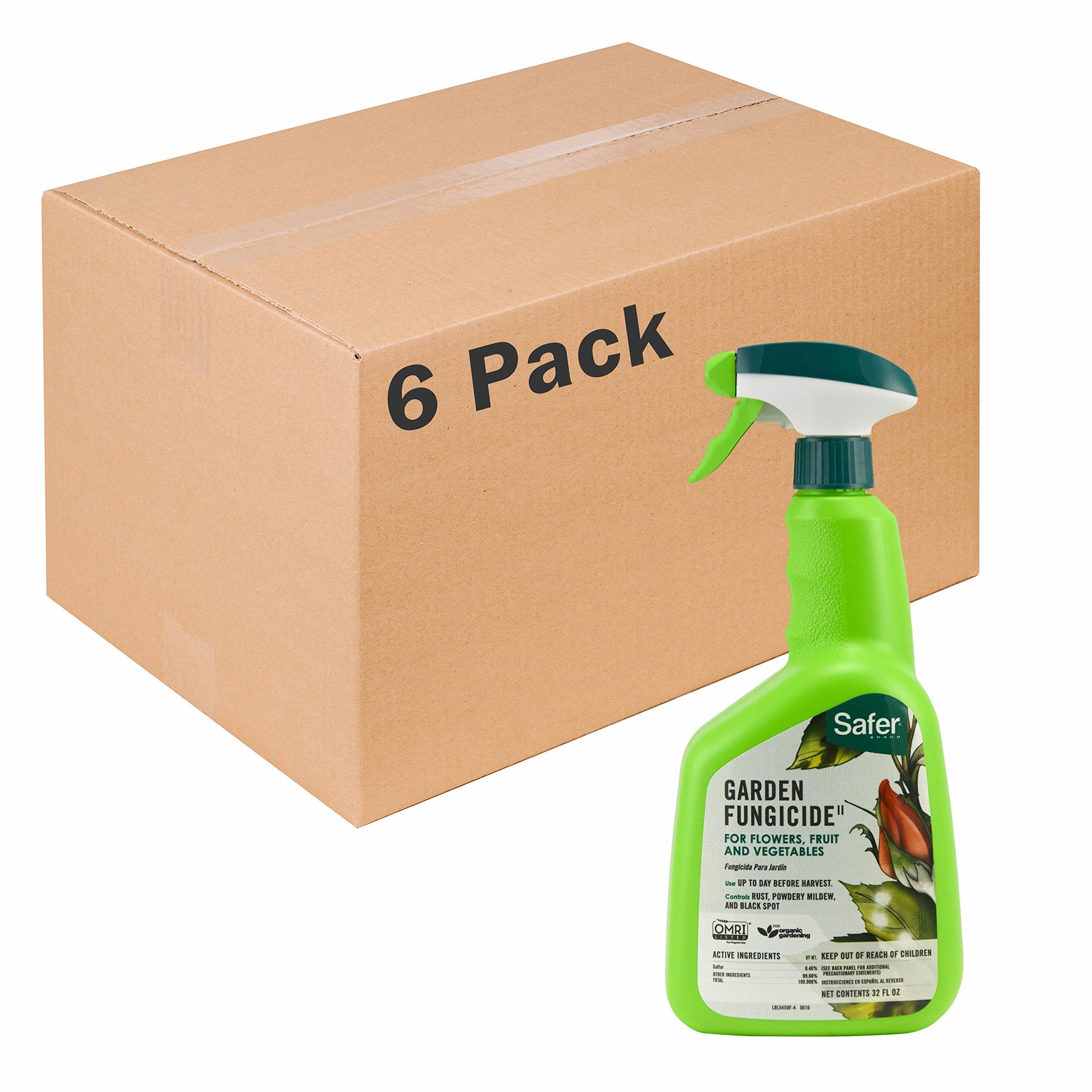 Garden Fungicide 32oz RTU by Safer Brand - 6 pack 5450-6