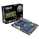 ASUS M5A97 EVO R2.0 - Placa base (DDR3-SDRAM, DIMM, dual, AMD, Socket AM3+, 4.8 GT/s)