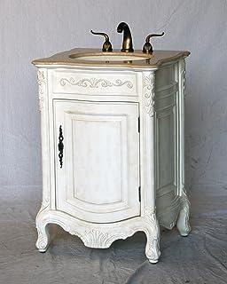 24 Inch Antique Style Single Sink Bathroom Vanity Model 2232 AW