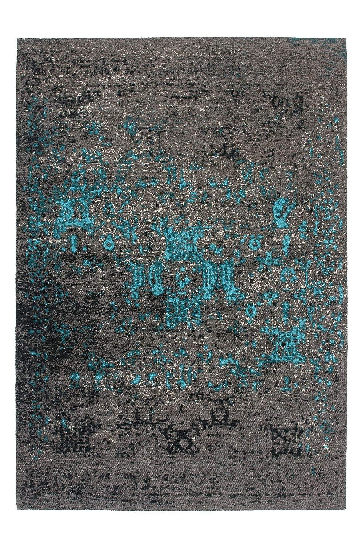 Lalee abgepasste Teppiche, 100% Polyester, Blau, 160 x 230 cm